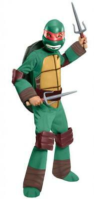 Jungen Kind Teenage Mutant Ninja Turtles Tmnt Deluxe Gepolsterter Raphael - Deluxe Kind Raphael Kostüm