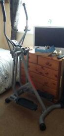 Christopeit Sport Walker de Lux model 9101 Air Walker cross Trainer Home Gym