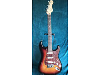 Fender American Deluxe Stratocaster 2009 With Dimarzio Pickup Ugrade