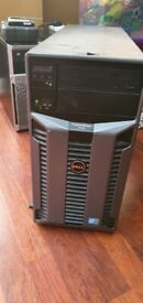 Dell PowerEdge T610 - 2 x Xeon Tower E5620 @2.4 GHz , 48GB RAM 146GB, 8 x 300GB HDD, Huge Spec
