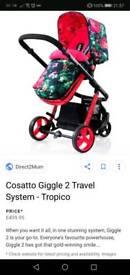 Cosatto tropico travel system 💮🌺🌸