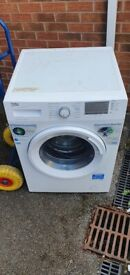 White Beko 9kg washing machine _ free delivery