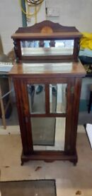 Antique music cabinet in rosewood.