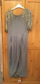 Virgos lounge grey dress size 14