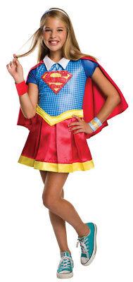 Mädchen Kind Deluxe Supergirl Superheld Dc Comics - Deluxe Supergirl Kind Kostüm