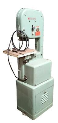 Powermatic 143 Vertical Band Saw High Low Gear Trans. 14 Single Phase 110-120v