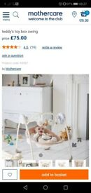 Mothercare Teddy's Toy Box. Swinging Chair