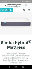 Brand New Simba hybrid mattress