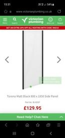 Shower screen and side panel
