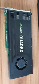 Quadro K4000 3GB Graphics card