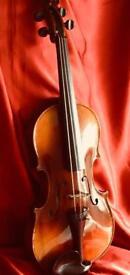 Vintage Violin - 3/4 Antonio Stradiverius Czech Copy