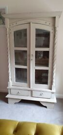 Chunky wood Bookcase/Display Cabinet