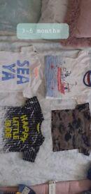 Baby clothes bundle 3-6 6-9