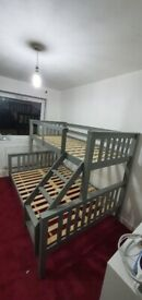 Exclusive Offer on Trio Wooden Bunk Bed Cash on Delivery Order Now
