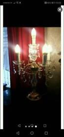 Beautiful candlestick crystal