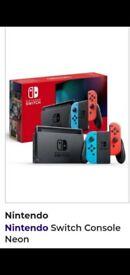 Nintendo Switch Neon (brand new)