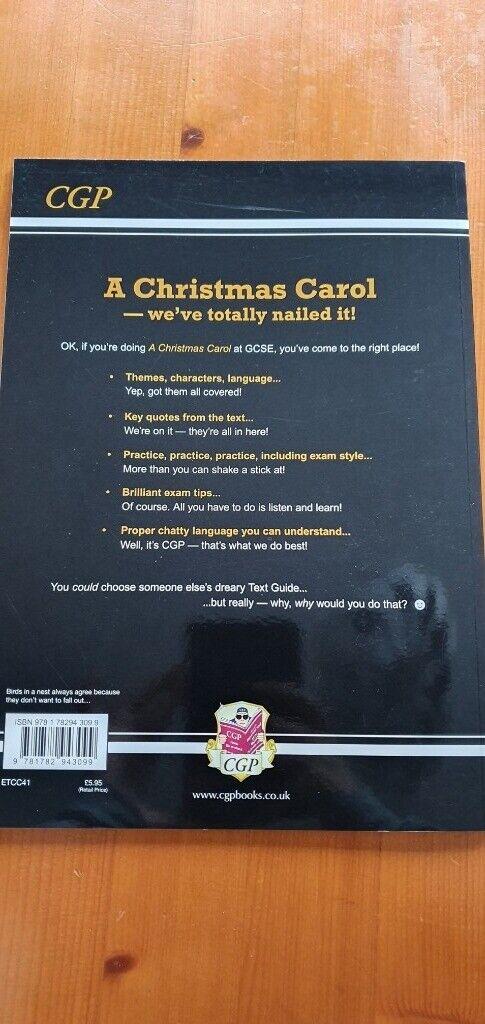 Christmas Carol Text Guide.Cgp Gcse English A Christmas Carol The Text Guide In Hemel Hempstead Hertfordshire Gumtree