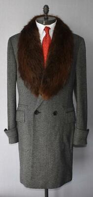 Usado, Gucci Tweed Jacket Coat With Mohair Collar (RRP £5,000) segunda mano  Embacar hacia Spain