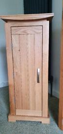 Light Oak CD cabinet (Oak Furnitureland)