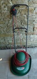 Qualcast Easi-Lite 34 electric rotary mower, in good working order.