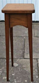 Vintage Wooden Plant Stand or Light Stand