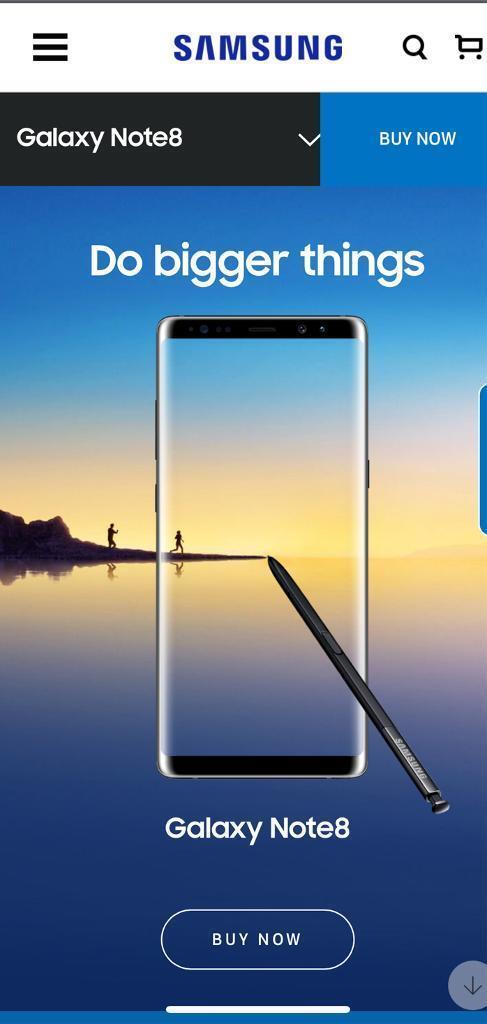 Samsung note 8 BRAND NEW sealed