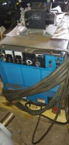 Miller Intelliweld 650 mig/stick Welder with Millermatic S-54A Wire Feeder, 3 Phase - No Gun or Cables with Unit