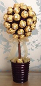 Large Ferrero Rocher Chocolate Sweet Tree *Edible Gift*