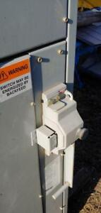 600 Amp GE Breakmaster Interrupter enclosed disconnect switch