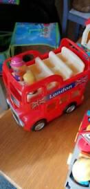 Elc happyland London bus, campervan