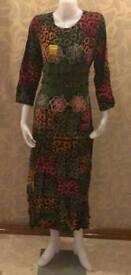 Maxi dress 100% Rayon handmade