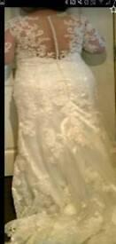 Wedding dress £45
