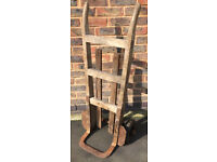 Vintage Sack Barrow / Truck / Trolley... Industrial Architectural decorative
