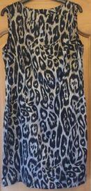 Matalan Animal Print Size 14 Dress - Excellent Condition