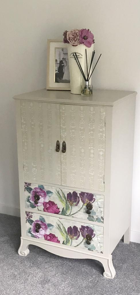 Vintage hand painted unit hand painted