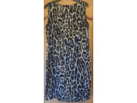 Matalan Animal Print Size 14 Dress - Excellent Condition