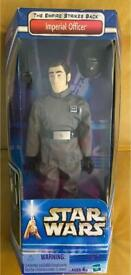 STAR WARS FIGURE. THE EMPIRE STRIKES BACK. IMPERIAL OFFICER. HASBRO 2002 SEALED