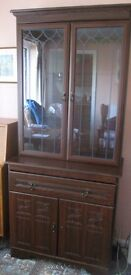 Sideboard & Display Cabinet - NEED GONE ASAP!