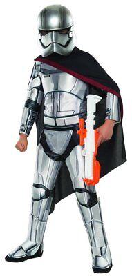 Jungen Kind Super Luxus Kapitän Phasma Star Wars das Erwachen der Macht Kostüm