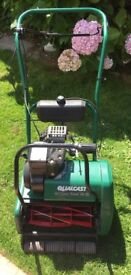 Qualcast Classic Petrol 35s Lawnmower FULLY REFURBISHED