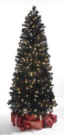Brand new pre-lit Christmas tree