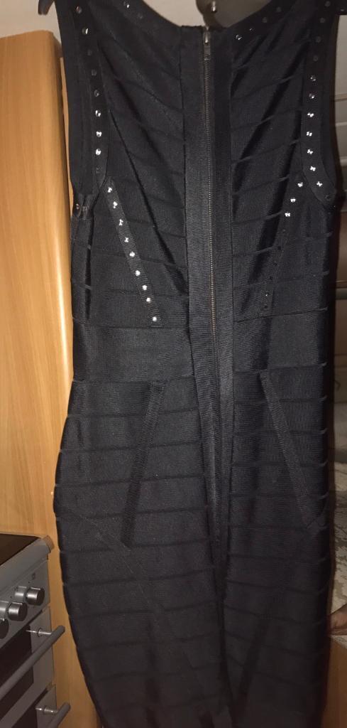 Bandage dress and evening dress
