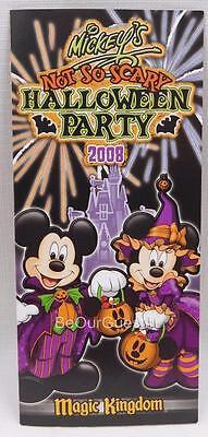 Not So Scary Halloween Party Map (Disney Mickey's Not So Scary Halloween Party Guide Map 2008)