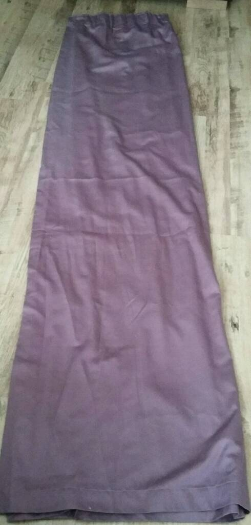 "Purple curtains 78""x90"" (Lined)"