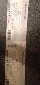 BONOBO 01/06/18 1 x DISABLED TICKET (INCLUDES PERSONAL ASSISTANT)