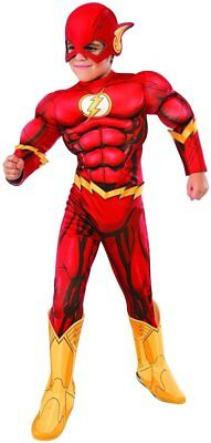 Jungen Kind The Flash Dc Superhelden Deluxe Lizensiertes - Jungen Super Helden Kostüm