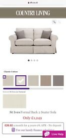 Dfs Country Living 2 seater sofa x 2