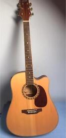 Ashton Acoustic Electro Guitar Dm55sceq
