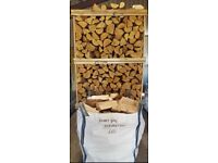 Dumpy Bag Kiln Dry Hardwood Logs Birch, Ash, Oak Firewood £65 Each Free Local Delivery 7 Days A Week