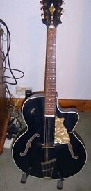 very large 1950s vintage archtop